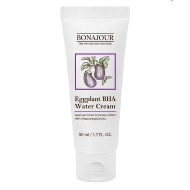 Eggplant BHA Water Cream Moisturizer - [Yes She May]