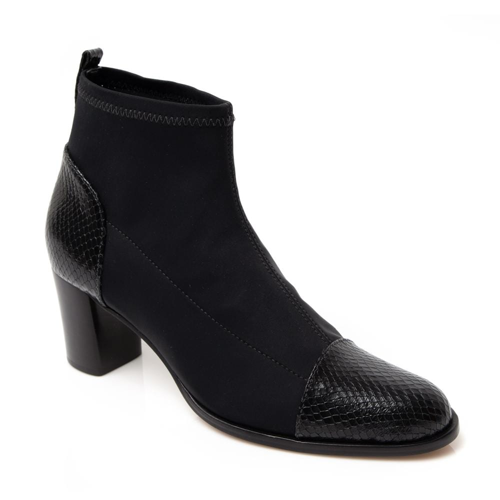 'Carly' Neoprene Ankle Bootie