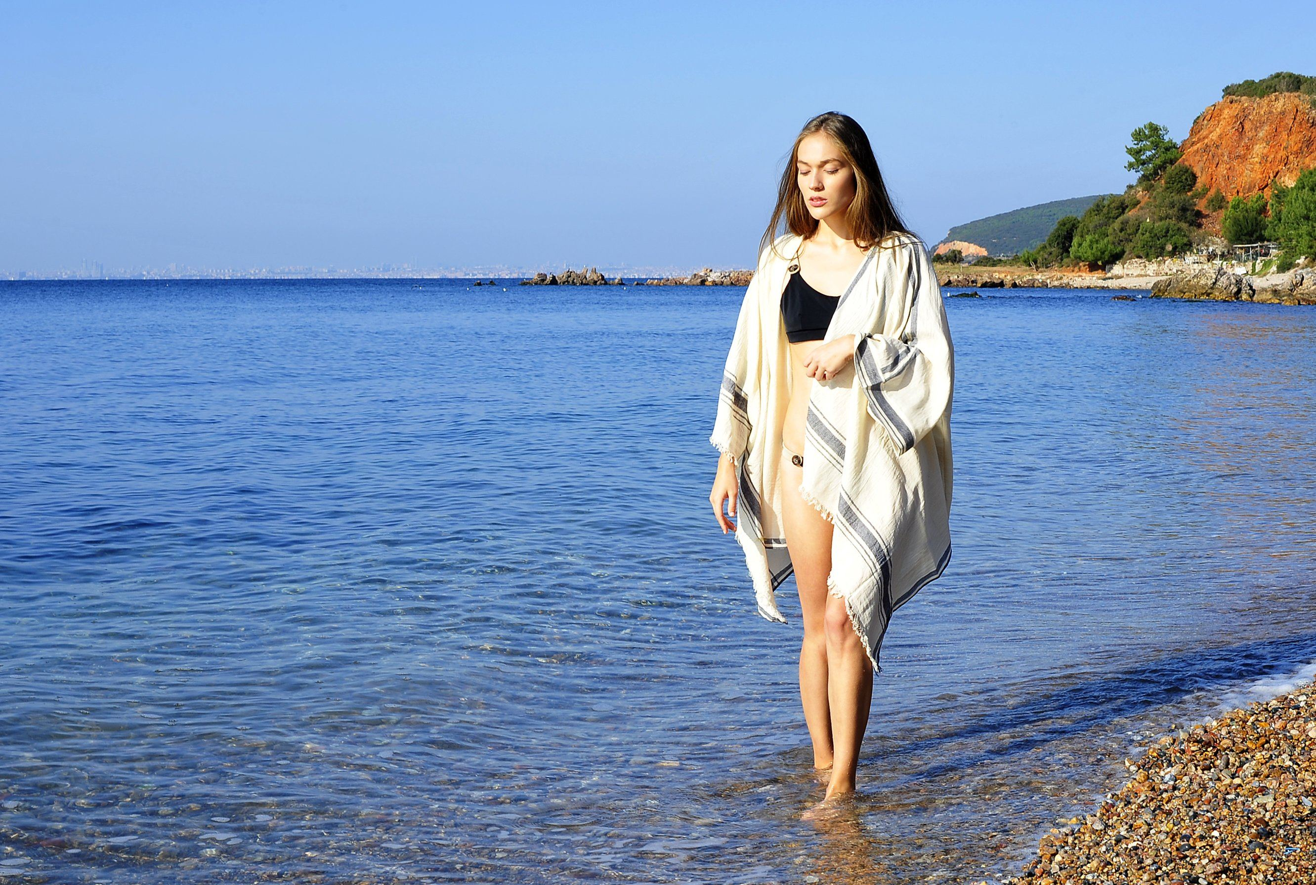 Cunda Beach Kimono - [Yes She May]