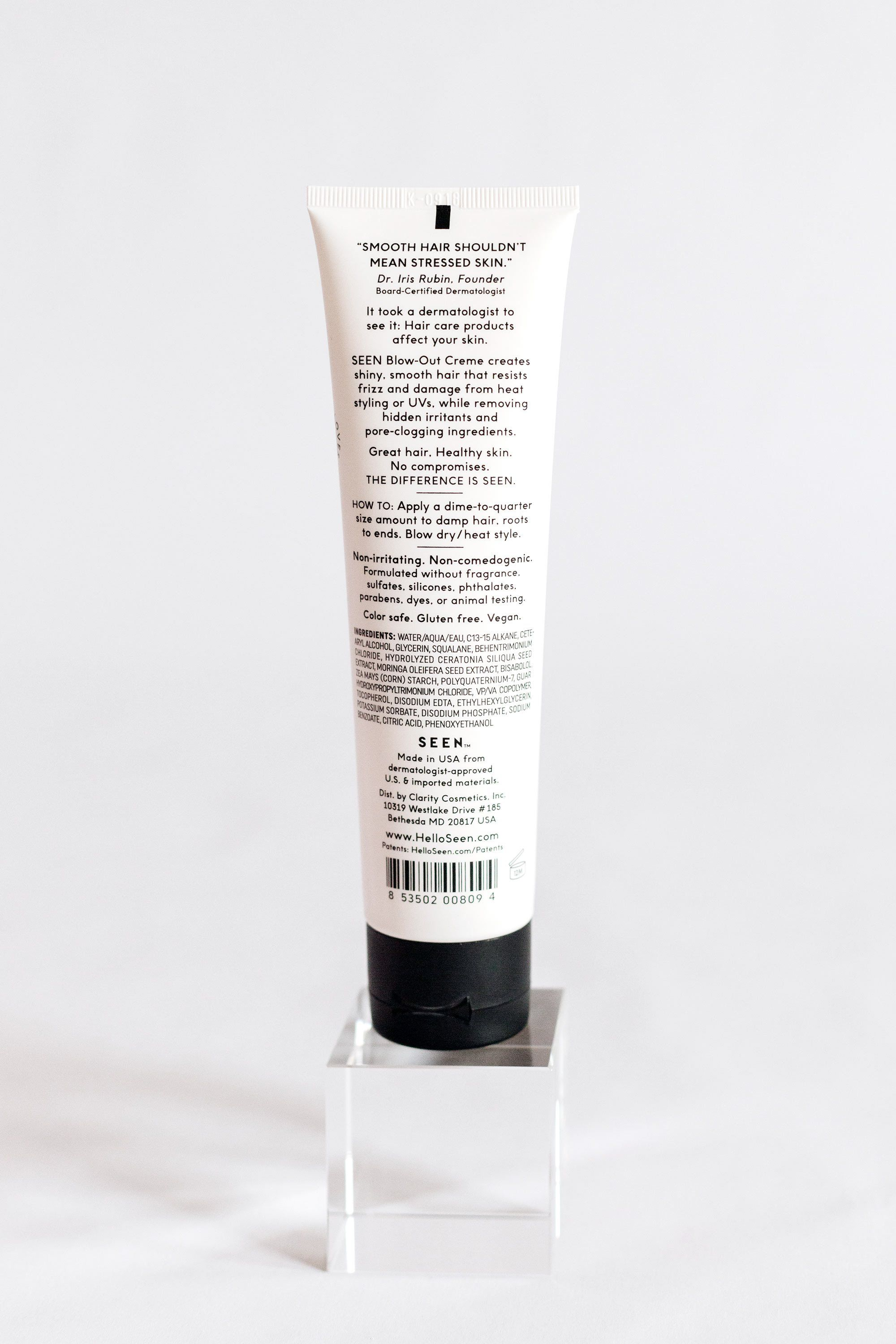 SEEN Blow-Out Creme, Fragrance Free