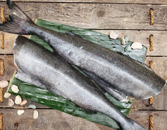 Frozen Wild Whole Small Black Cod