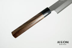 Kitaoka Blue #2 Migaki Yanagiba 300mm Rosewood Handle