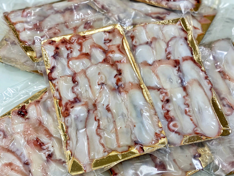 Frozen Sliced Cooked Octopus Tentacle Sashimi-Cut (200g)