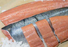 Fresh BC Chum Salmon Fillet