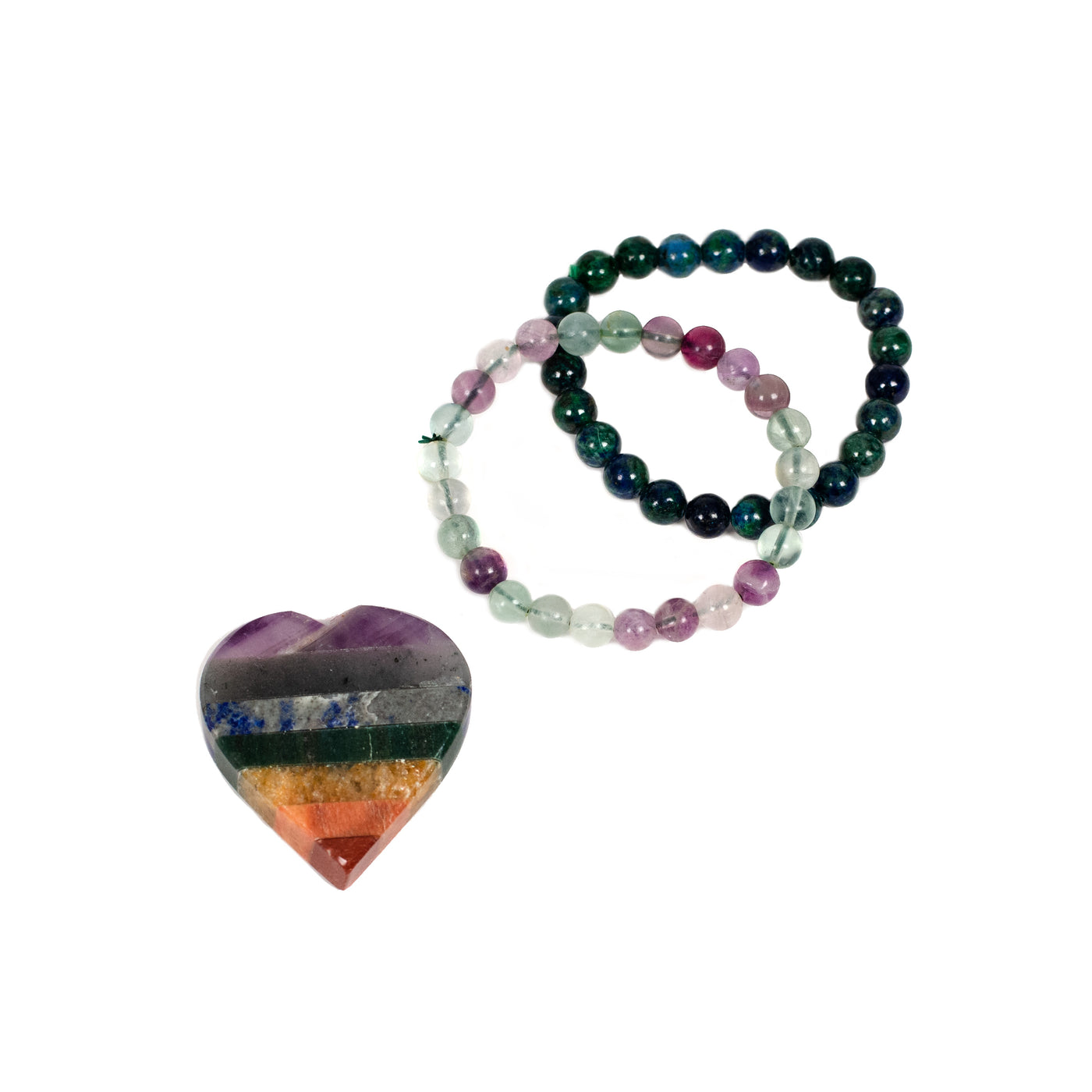 Energy Cleansing Bracelet Set - Sympathy Crystal - Healing Hearts Journey | Sympathy Gifts & Condolences Keepsakes