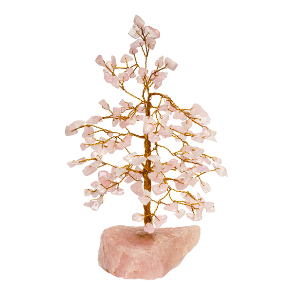 Rose Quartz Tree - - Unique Gifts | Healing Hearts Journey