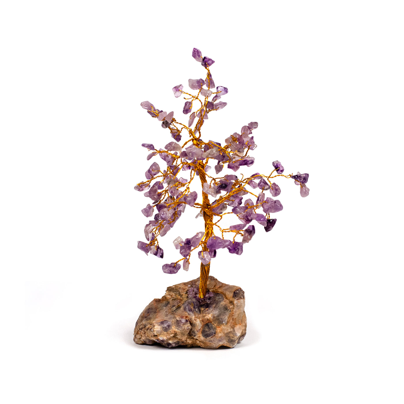 Amethyst Tree - Sympathy Crystal - Healing Hearts Journey | Sympathy Gifts & Condolences Keepsakes