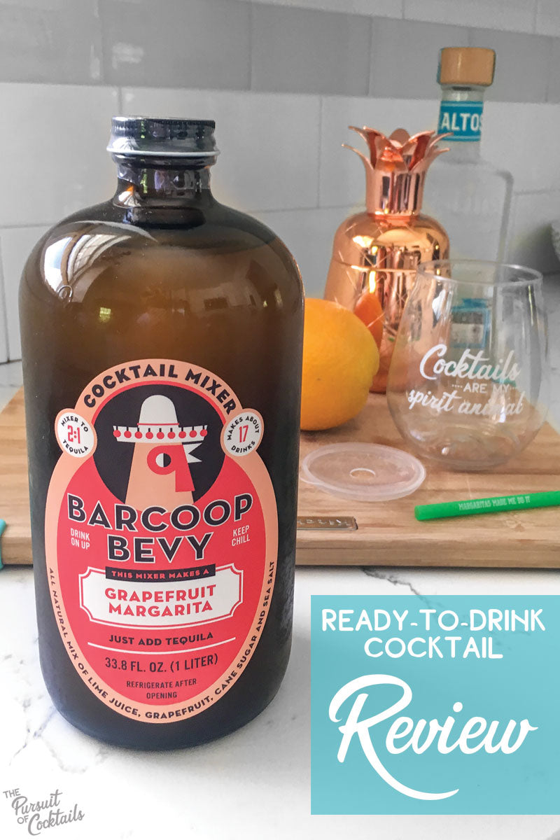Barcoop Bevy Grapefruit Margarita mix reviewed by The Pursuit of Cocktails