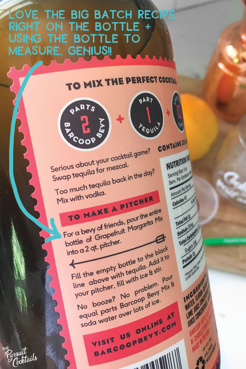 Barcoop Bevy cocktail mix reviewed by The Pursuit of Cocktails