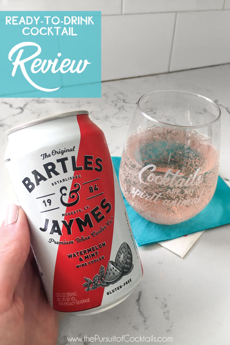 Bartles & Jaymes Watermelon & Mint wine cooler review