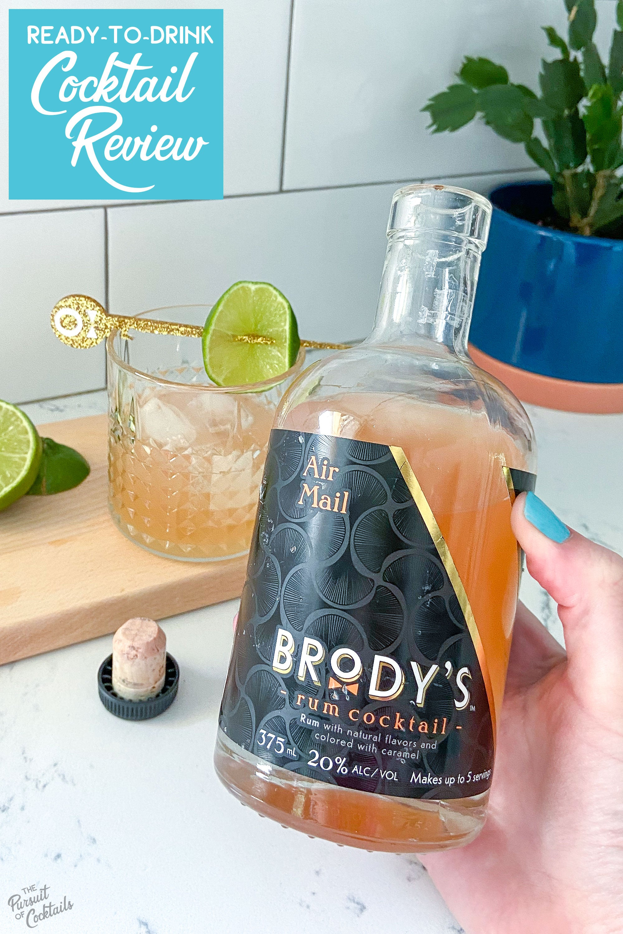 Brody's ready-to-drink cocktails reviewed by The Pursuit of Cocktails
