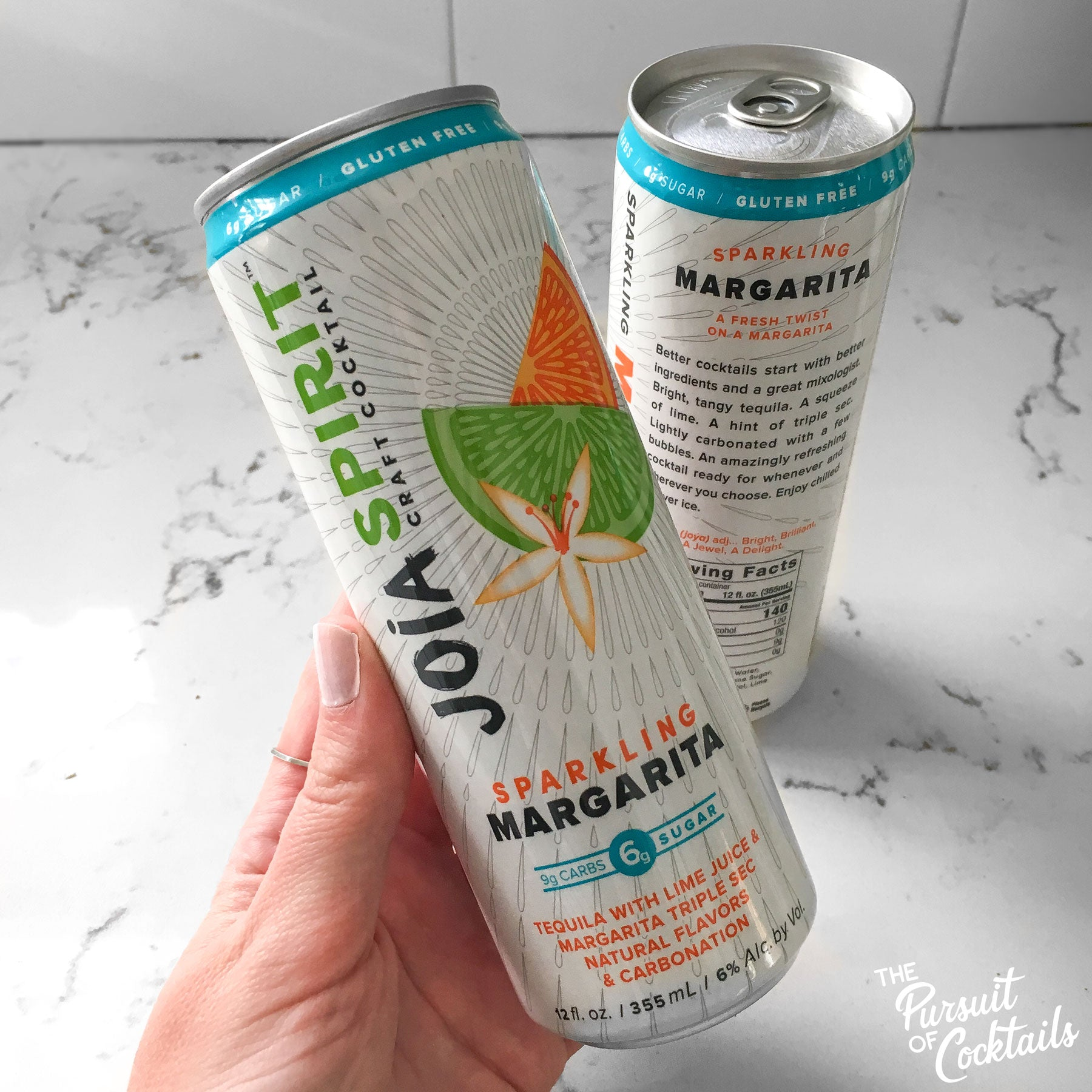 Joia Spirit sparkling margarita canned cocktail review