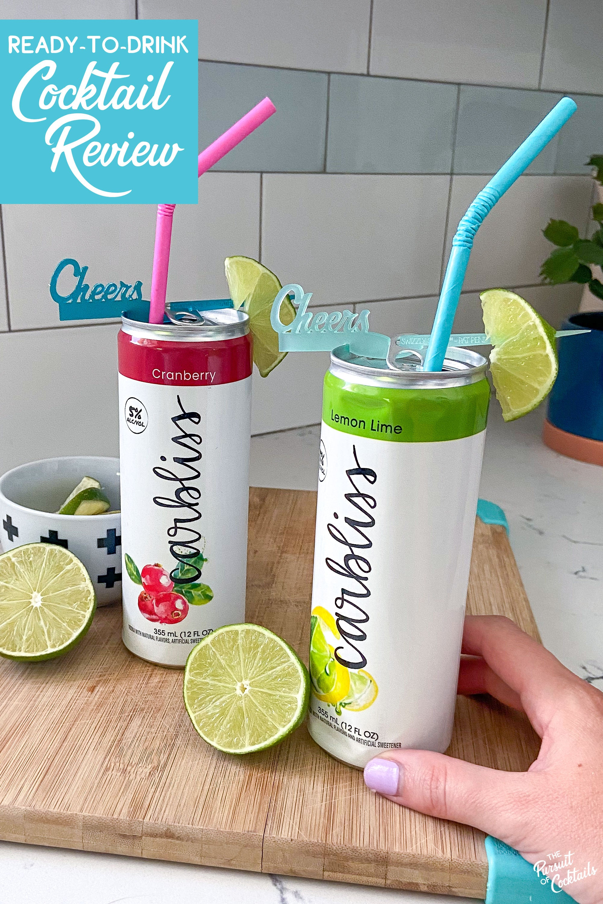 Canned cocktail review of Carbliss by The Pursuit of Cocktails
