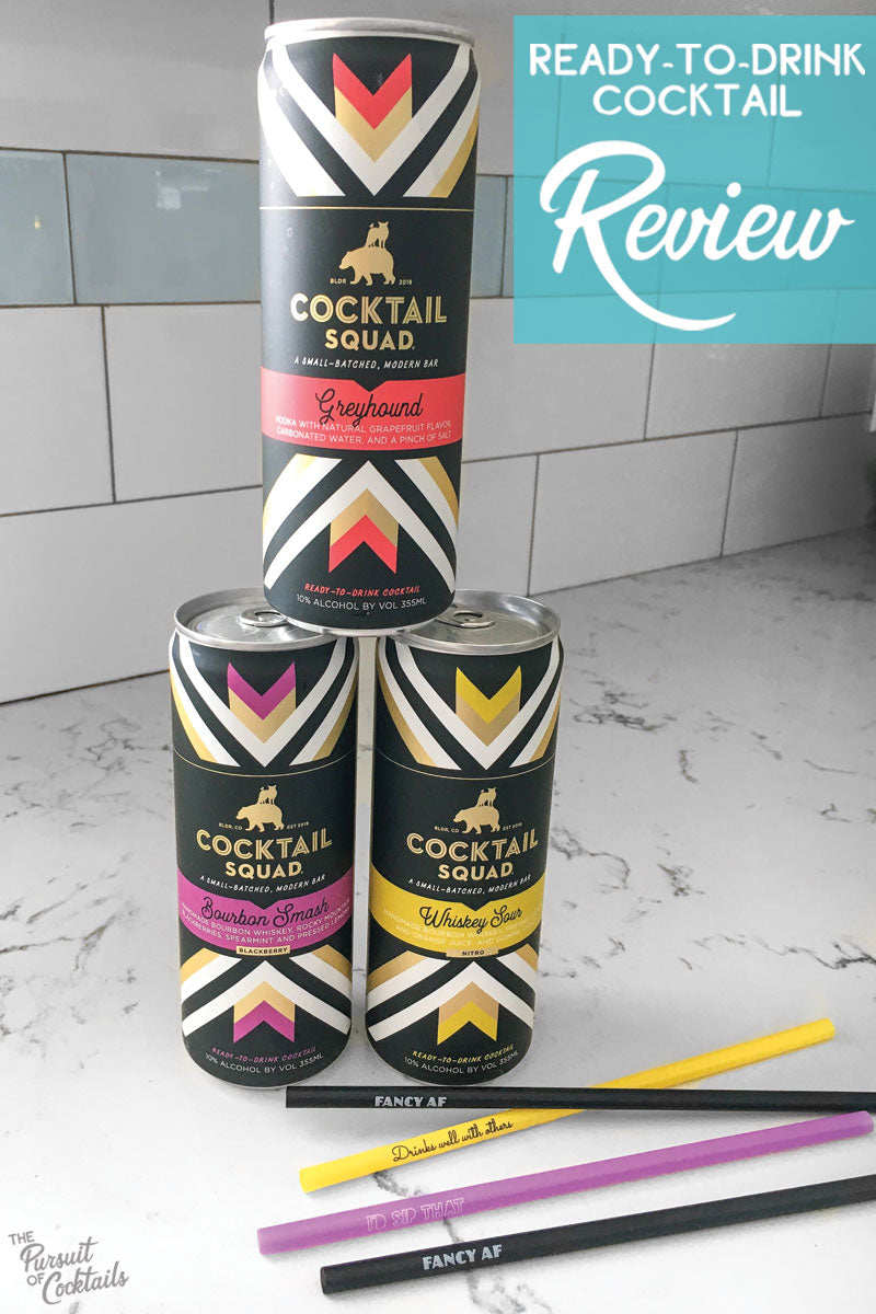 RTD cocktail review of Cocktail Squad by The Pursuit of Cocktails