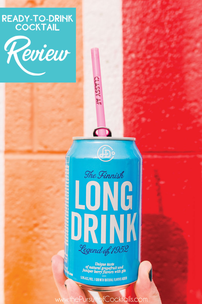 Canned cocktail review of The Long Drink