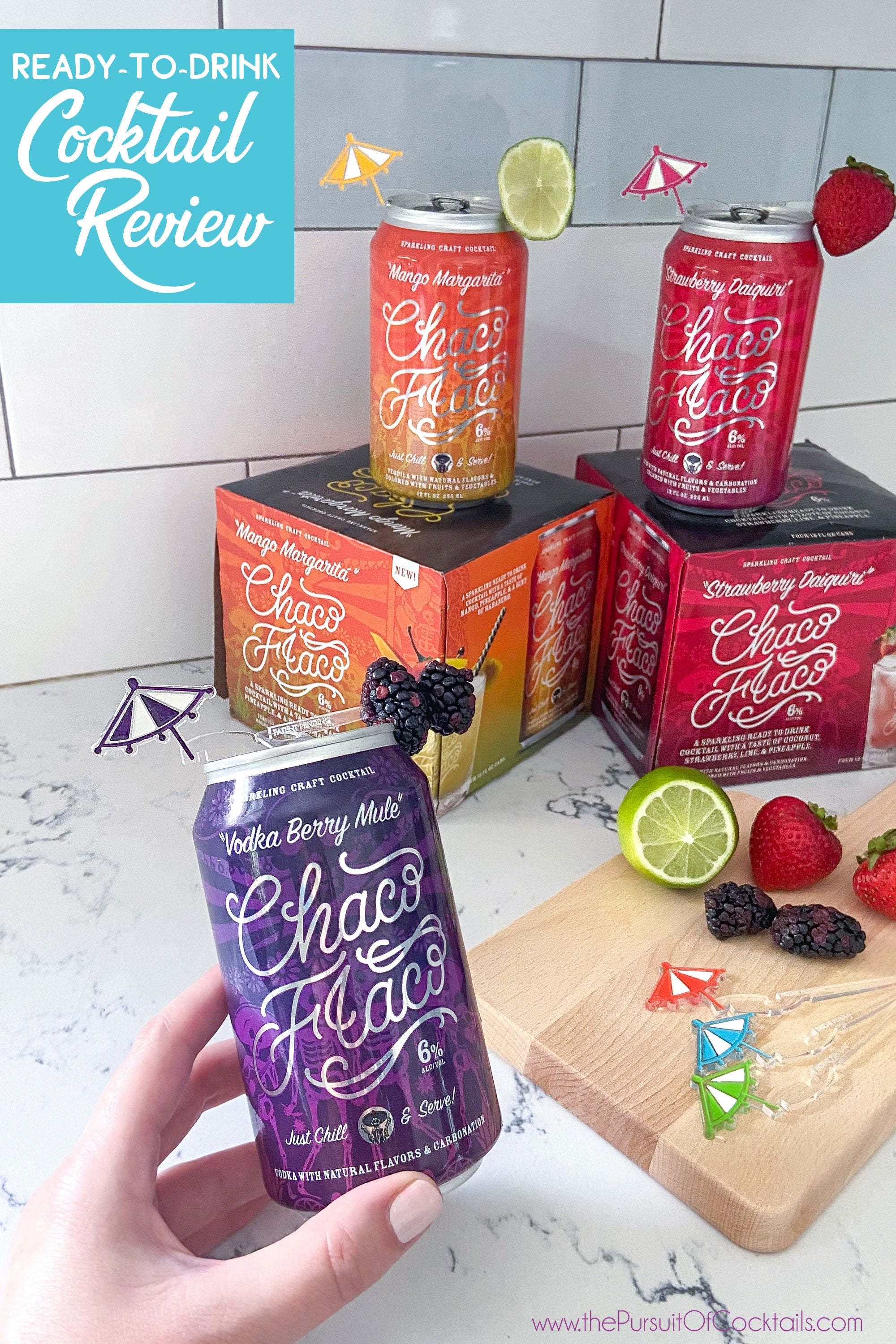 Chaco Flaco canned cocktail review by The Pursuit of Cocktails