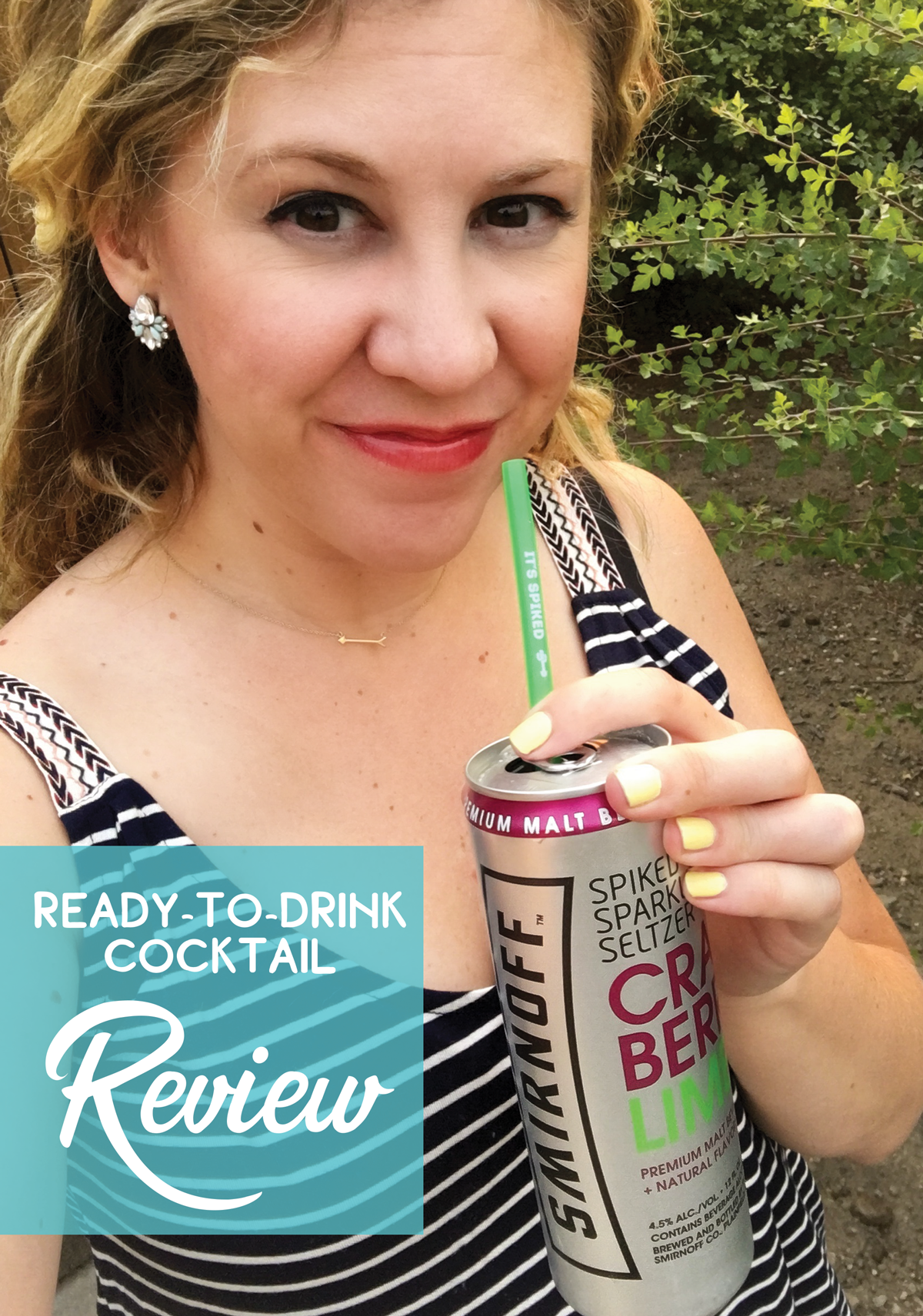 Canned cocktail review of Smirnoff Spiked Sparkling Seltzer