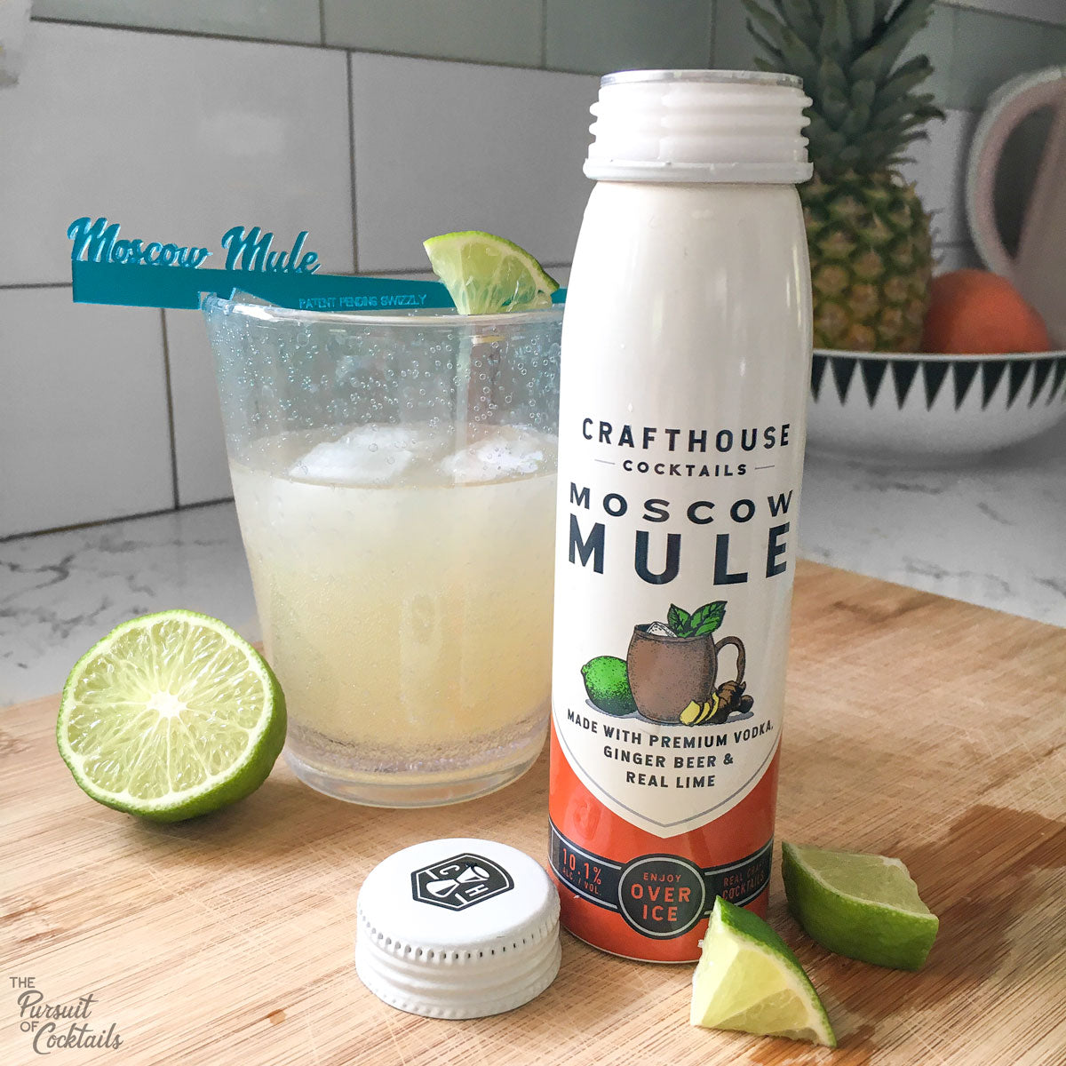 Ready to drink Crafthouse Cocktail Moscow Mule review
