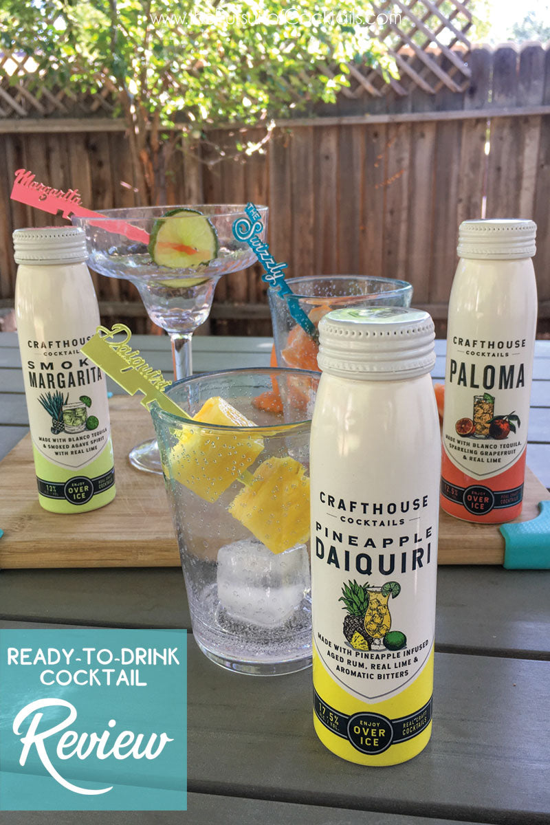 Crafthouse Cocktails rtd cocktail review by The Pursuit of Cocktails