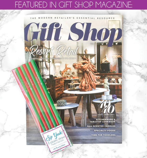 The Pursuit of Cocktails featured in Gift Shop Fall 2018