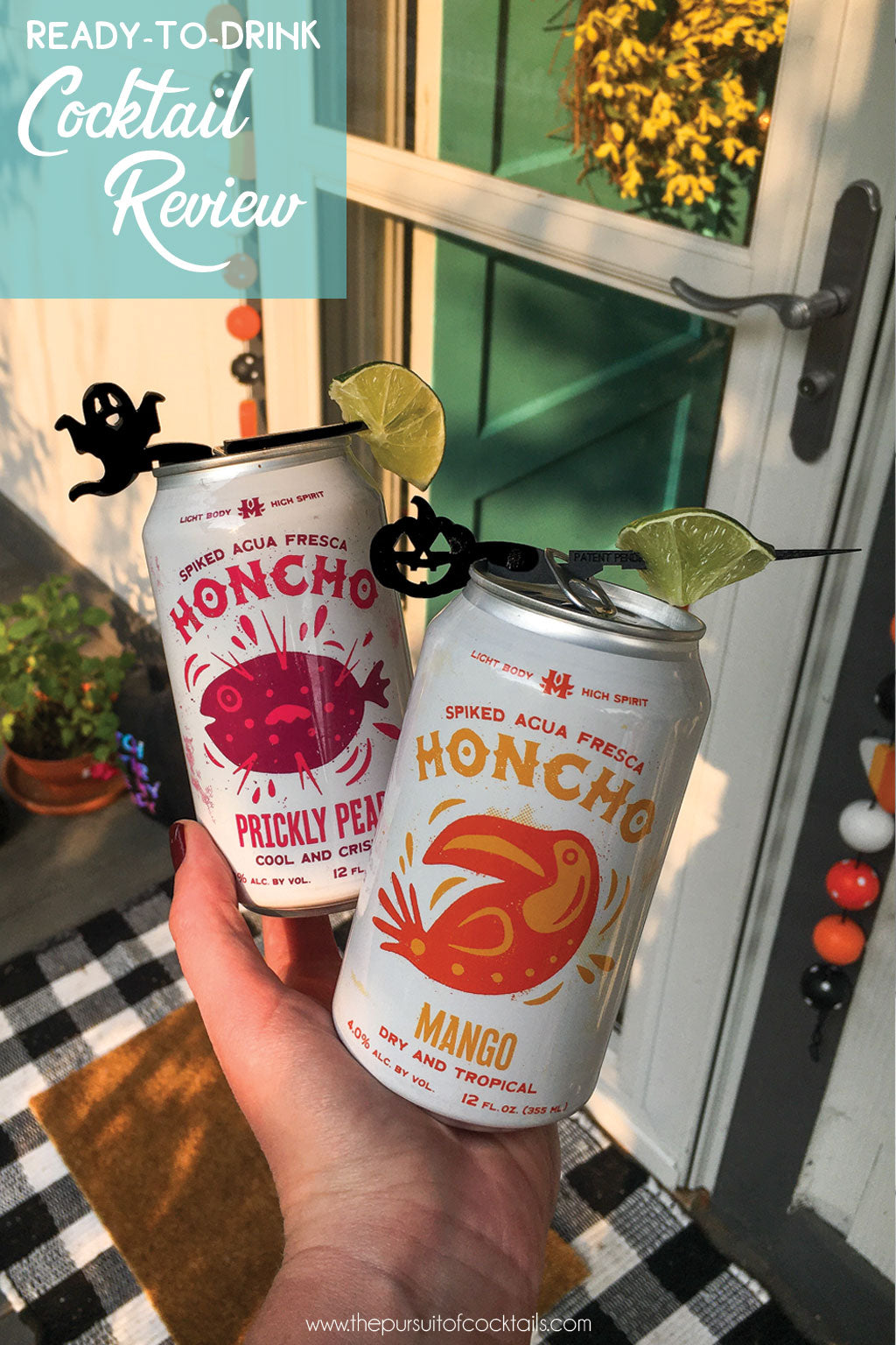 Honcho Spiked Agua Fresca canned cocktail review by The Pursuit of Cocktails