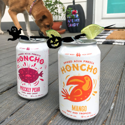 Halloween drink markers for cans - Swizzly Halloween collection