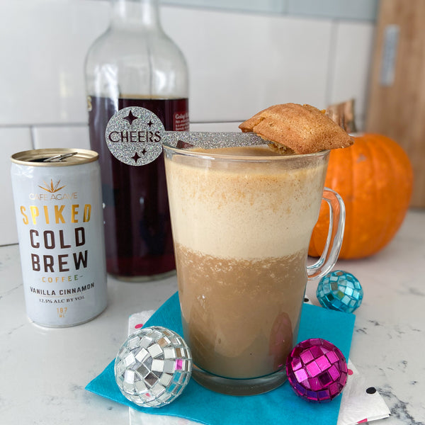 Cafe Agave Spiked Cold Brew pumpkin latte cocktail recipe