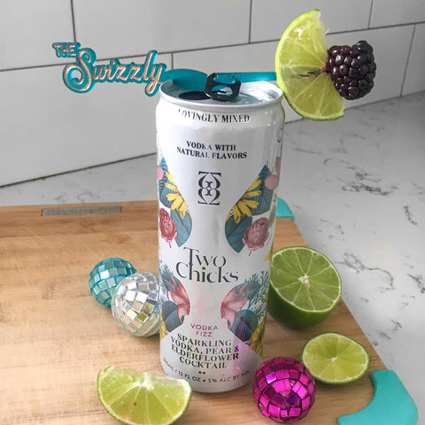 The Swizzly - a new way to add garnish to canned drinks + a drink marker