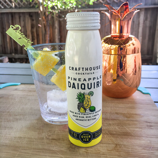 Crafthouse Cocktails pre-made pineapple daiquiri review