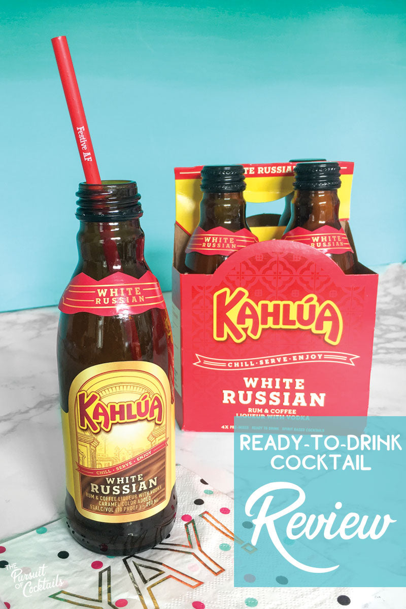 Ready-to-drink Kahlua White Russian