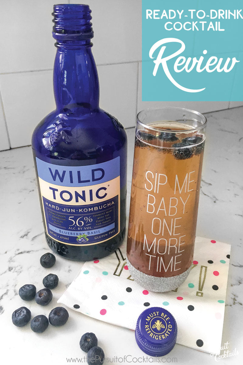 Wild Tonic hard kombucha ready to drink cocktail review