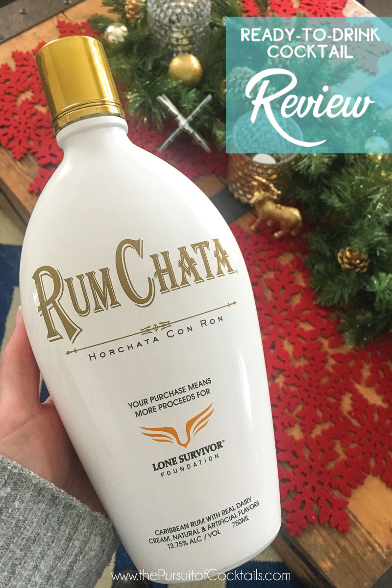 RumChata ready-to-drink cocktail review by The Pursuit of Cocktails