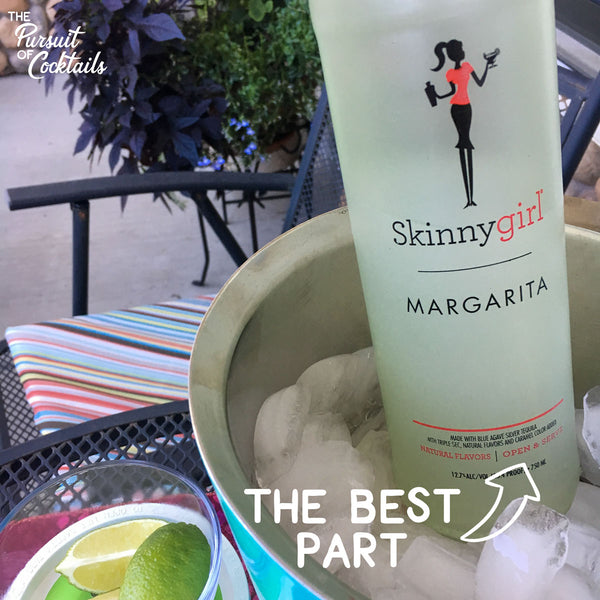 Skinny Girl Margarita pre-made cocktail review by The Pursuit of Cocktails