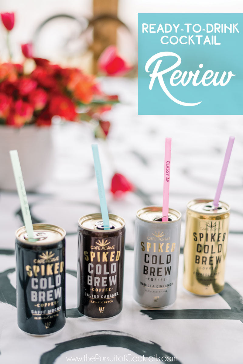 Spiked Cold Brew canned cocktail review