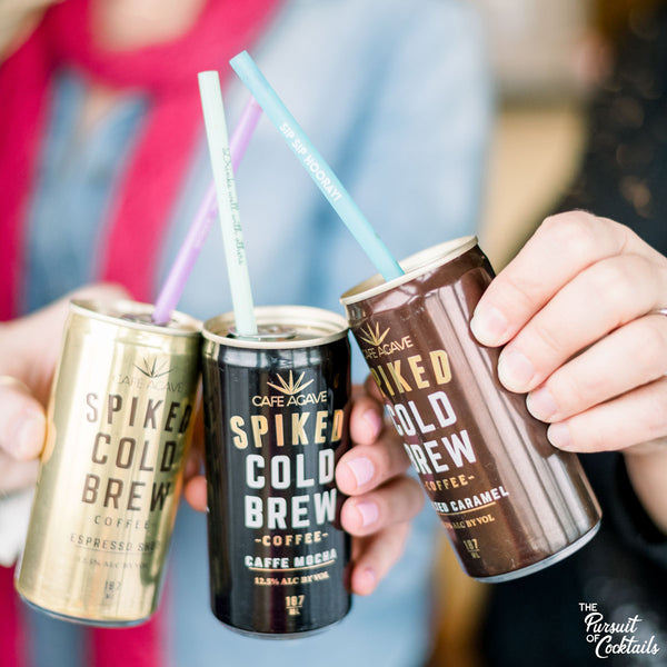 Spiked Cold Brew coffee canned cocktails