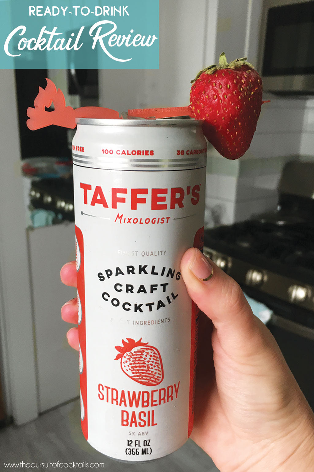 Canned cocktail review of Taffer's Mixologist sparkling cocktails