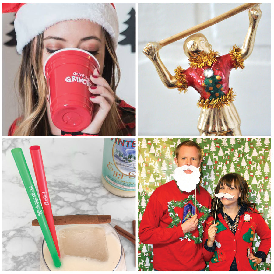 Ugly Christmas Sweater Party favor ideas
