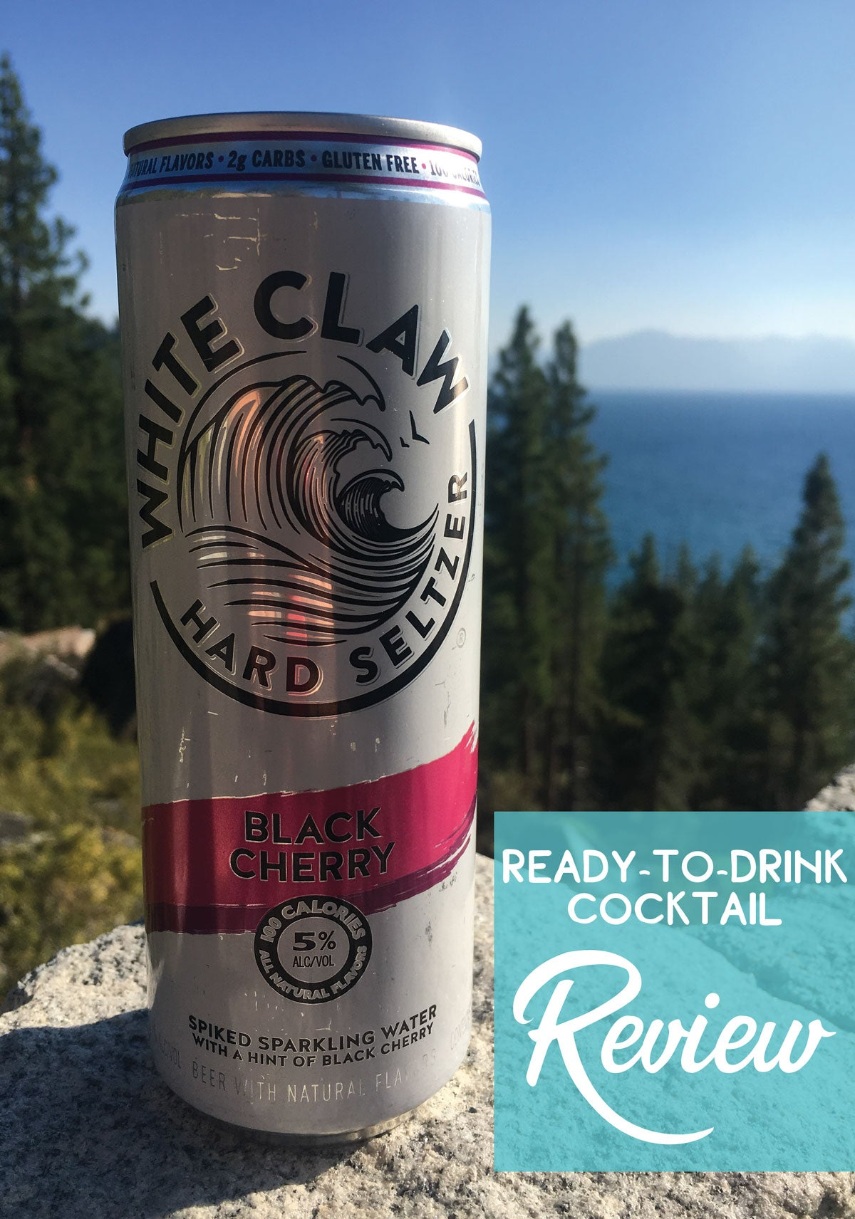 Canned cocktail review of White Claw Hard Seltzer