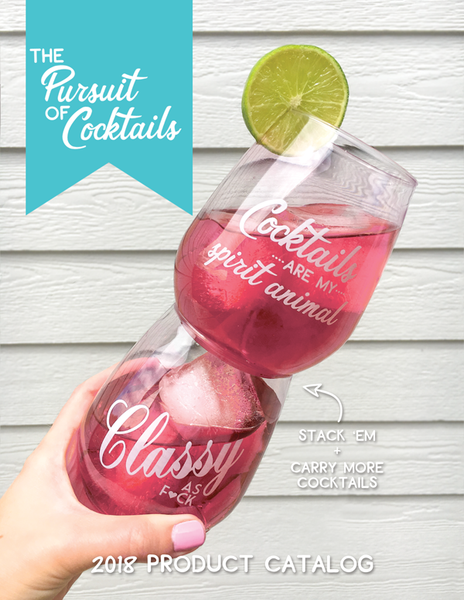 The Pursuit of Cocktails Wholesale Catalog