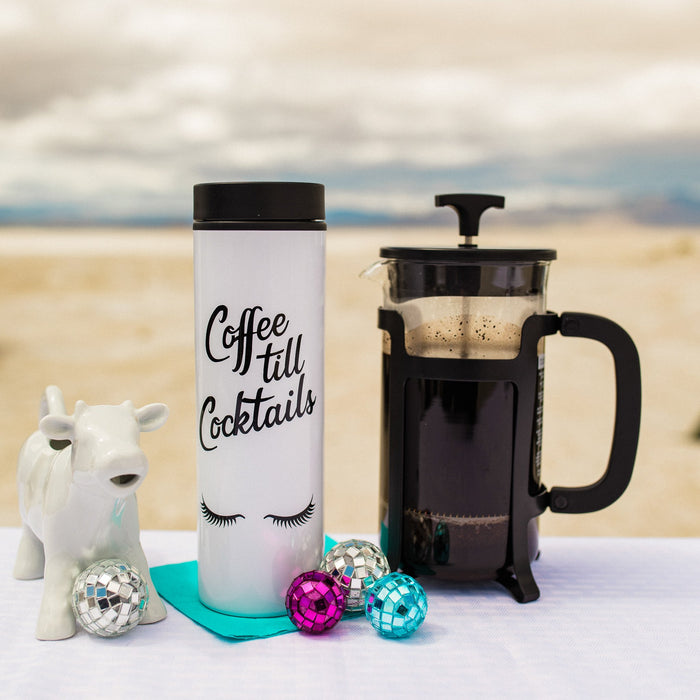 Coffee till Cocktails - coffee travel mug