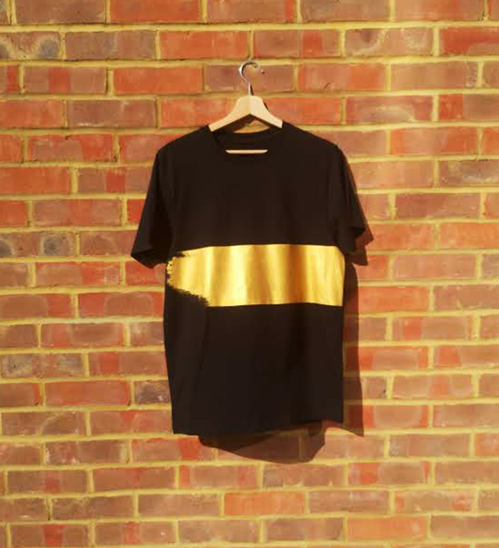 Gold Stripe T-shirt