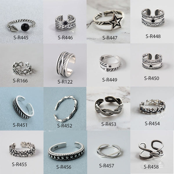 Expressions 925 SS Rings
