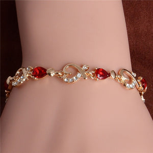 Elegance-Colorful Charm Bracelet