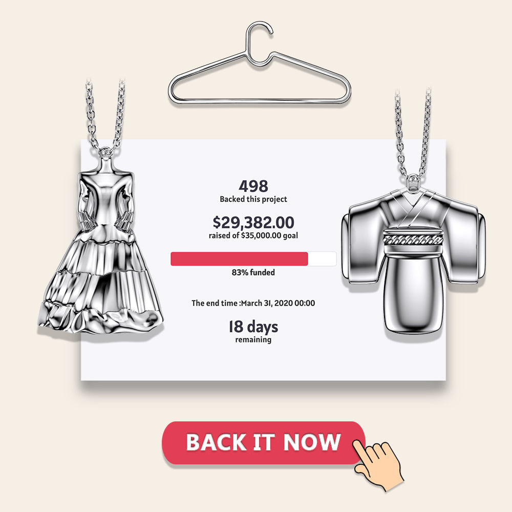 Crowdfunding - Garment Necklaces