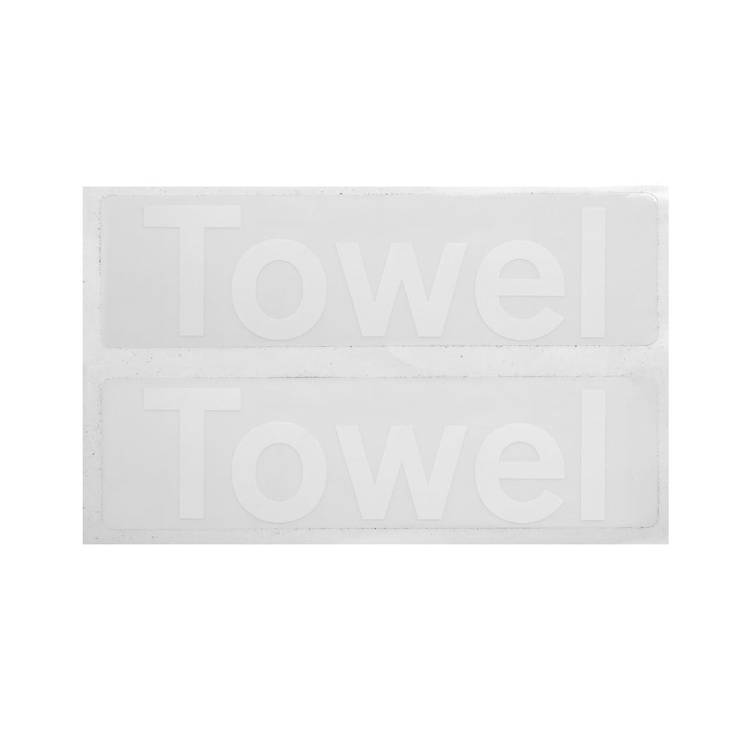Towel Decal