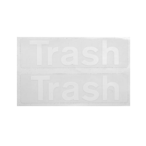 Trash Decals