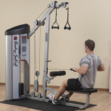 Body Solid Pro Club Line Series II Lat Pulldown and Seated Row