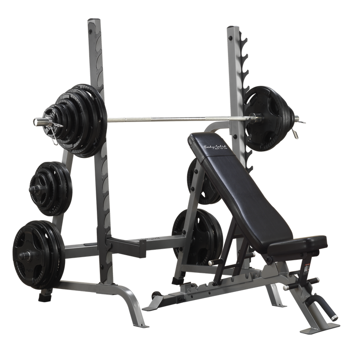 Body Solid Bench and Rack Package