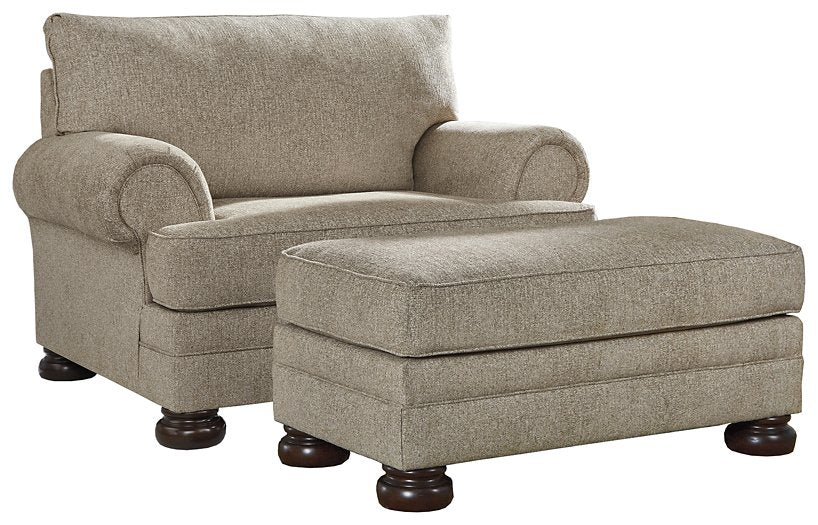 Kananwood Signature Design 2-Piece Chair & Ottoman Set