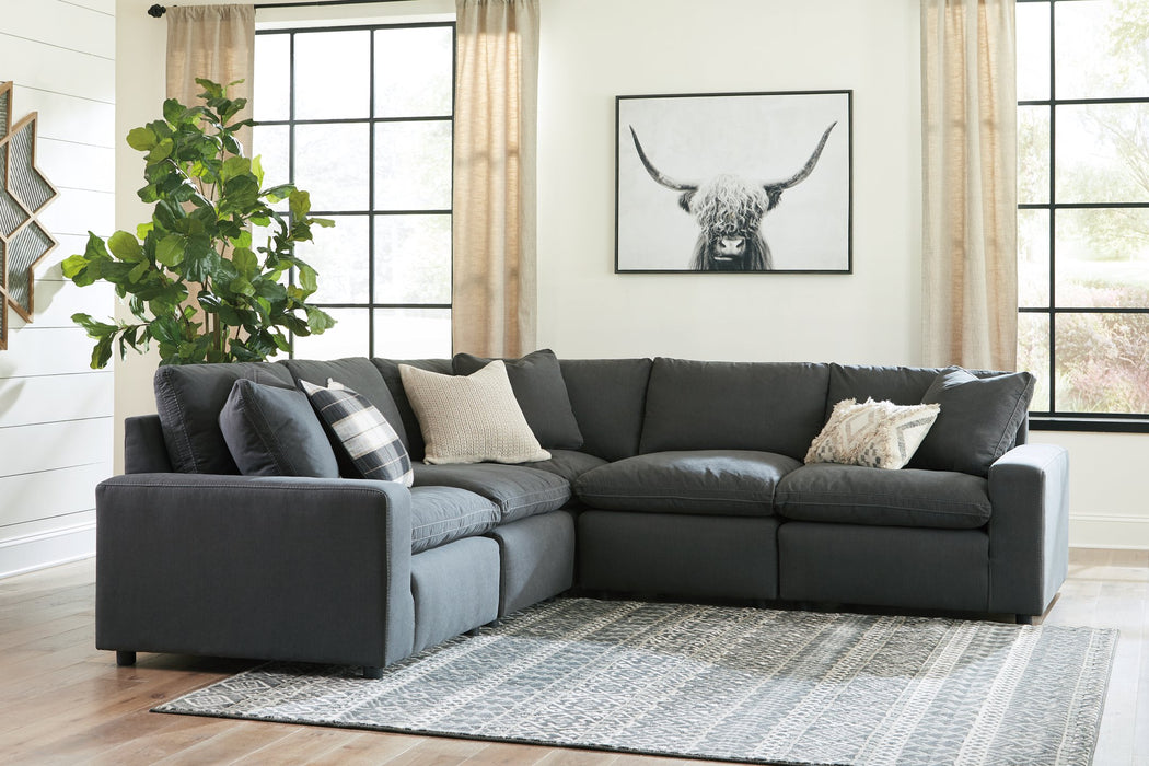 Savesto Signature Design by Ashley 5-Piece Sectional
